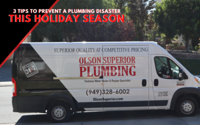 3 Tips To Prevent A Plumbing Disaster This Holiday Season